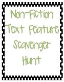 Non-Fiction Text Feature Checklist/Scavanger Hunt