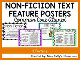 Non-Fiction Text Feature Posters (Common Core Aligned)