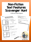 Non-Fiction Text Feature Scavenger Hunt *EDITABLE* meets CCSS and NGSS!