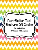 Non-Fiction Text Feature Task Cards & QR Codes