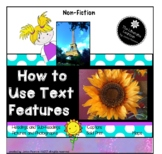 Non-Fiction Text Features 2nd Grade