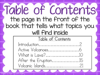 Non-Fiction Text Features Anchor Charts