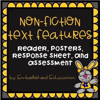 Non-Fiction Text Features-Being Healthy