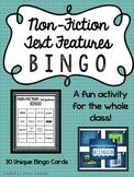 Non Fiction Text Features Bingo