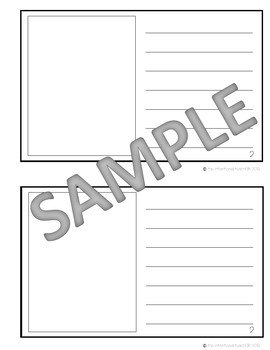 Non-Fiction Text Features Blank Book