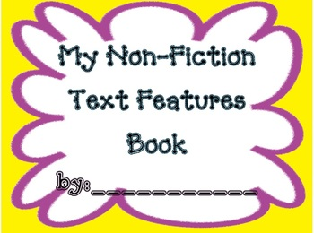Non-Fiction Text Features Book