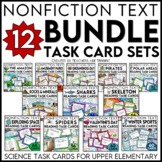 Non Fiction Text Features Task Card Bundle