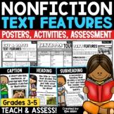 Nonfiction Text Features Posters and Activities