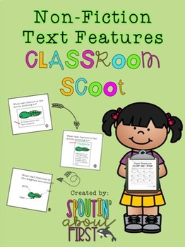 Non-Fiction Text Features Classroom/Hallway Scoot