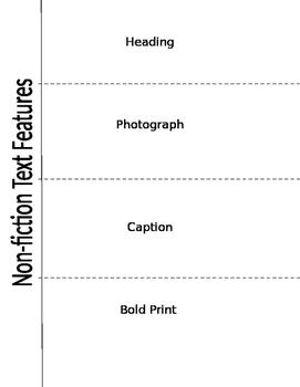 Non-Fiction Text Features Flip Book