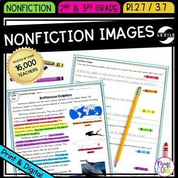Nonfiction Text Features: Images- RI.2.7 & RI.3.7