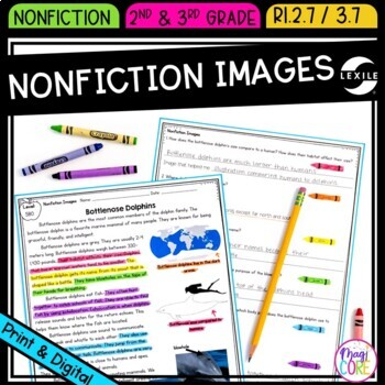 Nonfiction Text Features: Images- RI.2.7 & RI.3.7 by Common Core ...