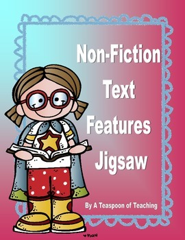 Non-Fiction Text Features Jigsaw Puzzle