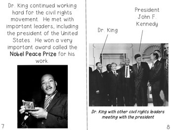 Non-Fiction Text Features MLK freebie!