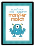Non-Fiction Text Features- Monster Mash