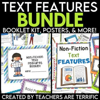 Non-Fiction Text Features Bundle
