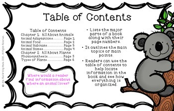 Non-Fiction Text Features {Posters}