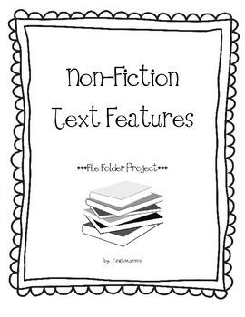 Non Fiction Text Features Flie Folder Project