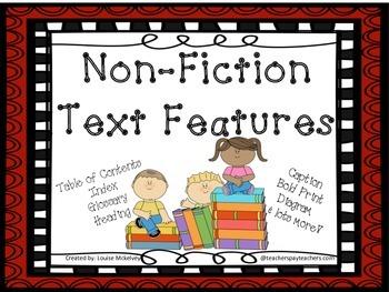 Text Features - Non Fiction