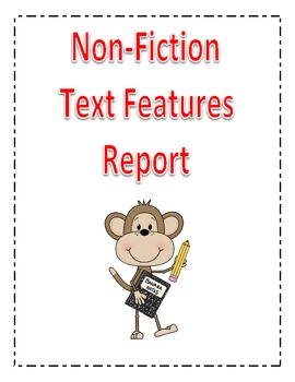 Non Fiction Text Features Report