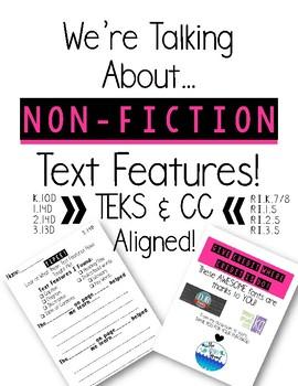 Non-Fiction Text Features Response Sheet!
