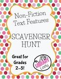 Non-Fiction Text Features Scavenger Hunt