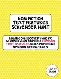 Non Fiction Text Features Scavenger Hunt Activity