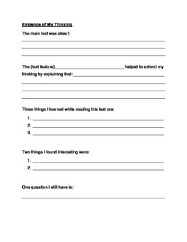 Non-Fiction Text Features Scavenger Hunt (Intermediate - Grades 3-5)