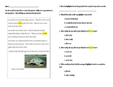 Non Fiction Text Features ~ Sea Turtles