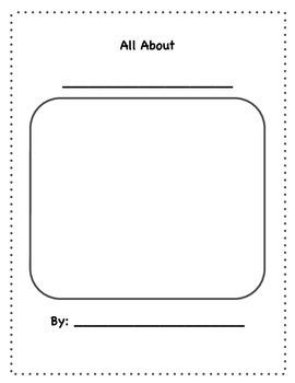 Non-Fiction Text Features Mini Unit (sort/hunt/nonfiction report booklet)