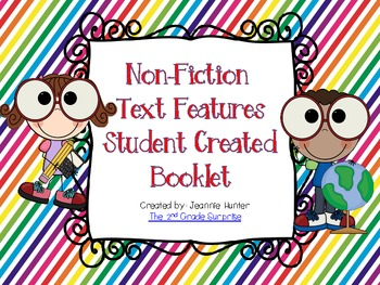 Non-Fiction Text Features Student Created Booklet