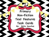 Non-Fiction Text Features Task Cards FREEBIE!!!!!