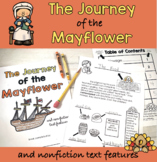 Pilgrims' Journey on the Mayflower:  Nonfiction Text Features