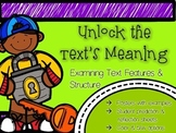 Non-Fiction Text Features and Structure Posters