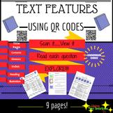 QR Code Non-Fiction Text Features
