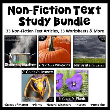 Non-Fiction Text Passages Bundle