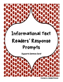 Non-Fiction Text Readers' Response Prompts (Knowledge/Comp