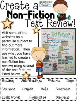 Non-Fiction Text Review Pages