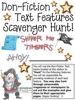 Non-Fiction Text Scavenger Hunt