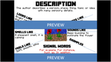 Non-Fiction Text Structure Posters - Minecraft Themed - Signal Words Included