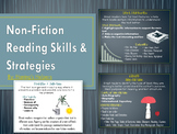 Non Fiction Text Structure Reading Skill & Strategy PowerPoint and Posters