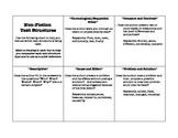 Non-Fiction Text Structure Recording Sheet