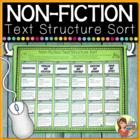 NonFiction Text Structure Sort