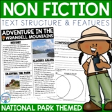 Non-Fiction Text Structure and Text Features (National Parks)