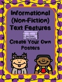 Non Fiction Text Features Posters (Informational Text Features Posters)