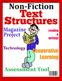 Non-Fiction Text Structures Magazine Project