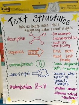 Non Fiction Text Structures Worksheet