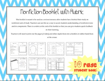 Non-Fiction Text Student Booklet