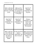 Non Fiction Text Task Cards