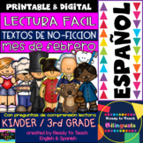 Non-Fiction Texts in Spanish - February Themes - Reading C